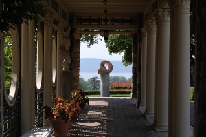 Art featured in Kykuit garden